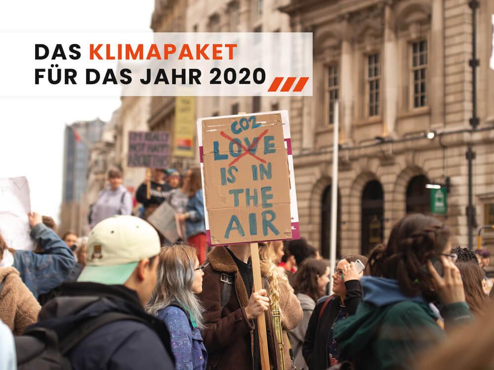 Klimapaket 2020