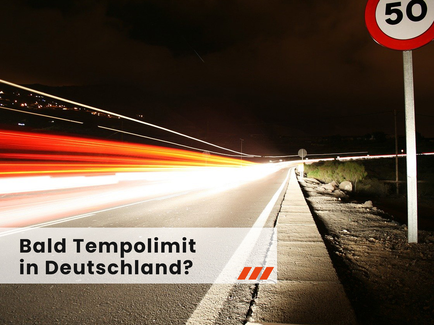 Tempolimit in Deutchland